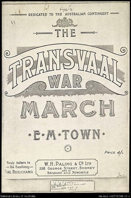 The Transvaal War March