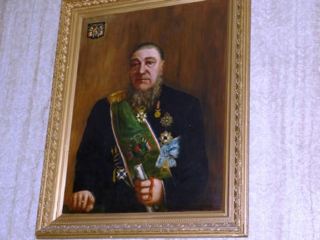 Portrait of President Kruger